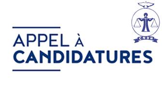 Appel à candidatures pour le renouvellement des membres de la CNDH