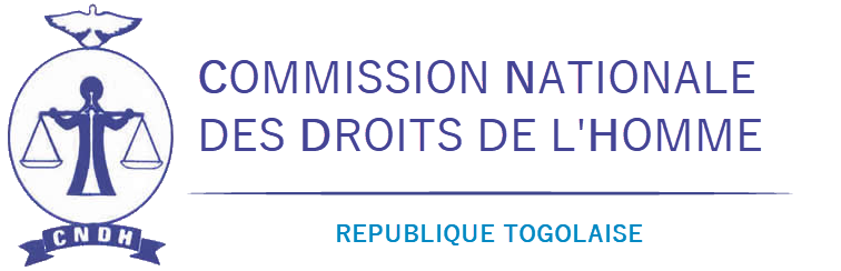 CNDH Togo - Logo de la commission nationale des droits de l'homme au Togo