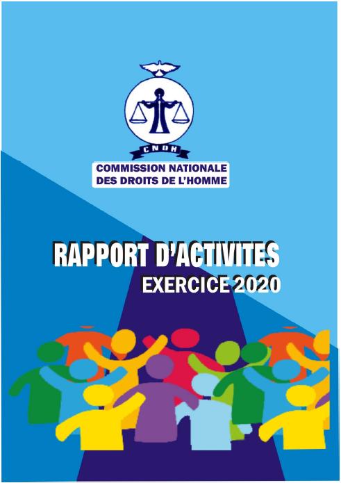 Rapport annuel d'activités 2020