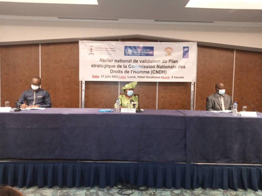 Droits de l'homme : les acteurs des droits de l'homme valident le plan stratégique de la CNDH pour les cinq prochaines années