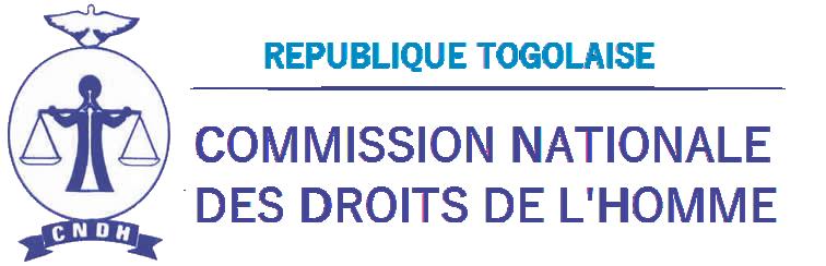 CNDH Togo - Logo de la commission nationale des droits de l'homme au Togo