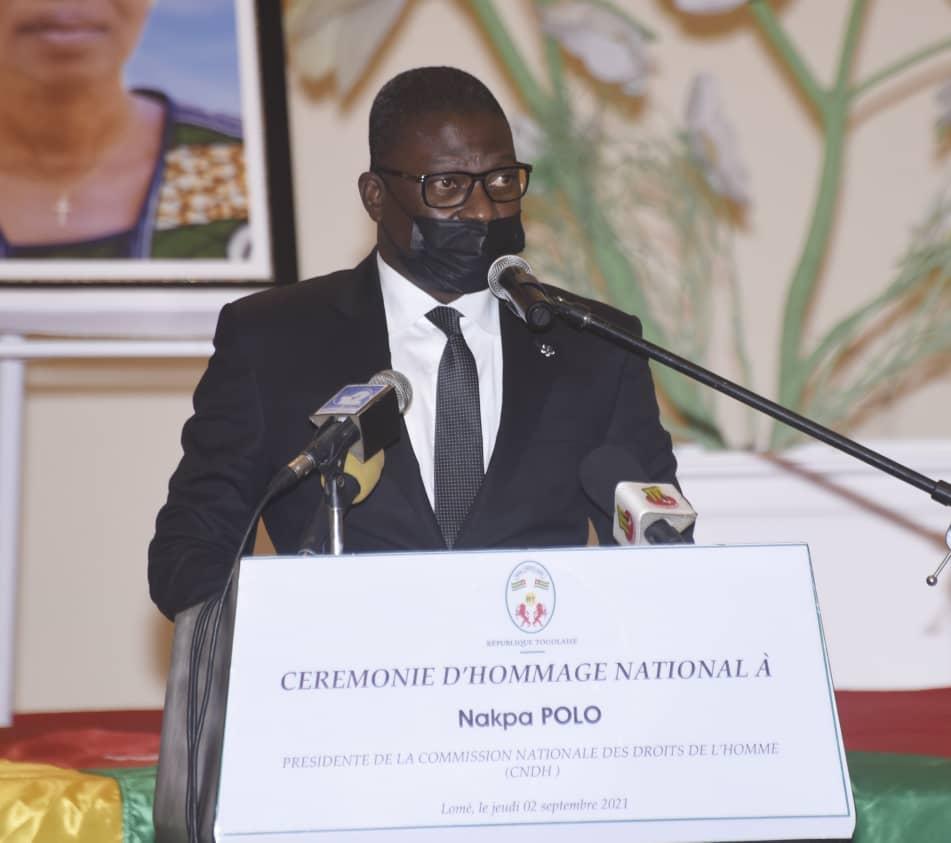 La nation togolaise rend hommage à Madame Nakpa POLO