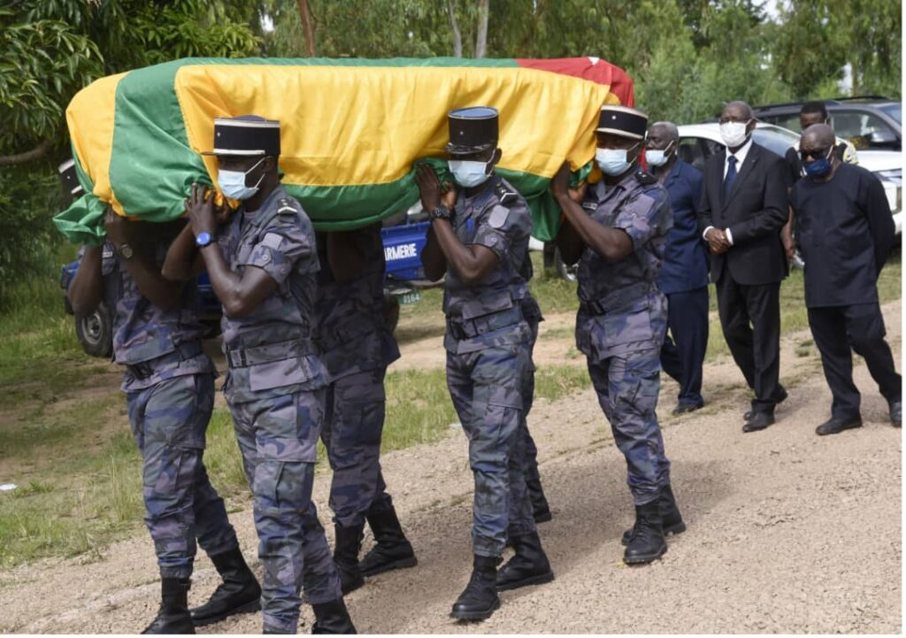 La Présidente de la CNDH, Nakpa POLO inhumée dans sa ville natale à Kantè